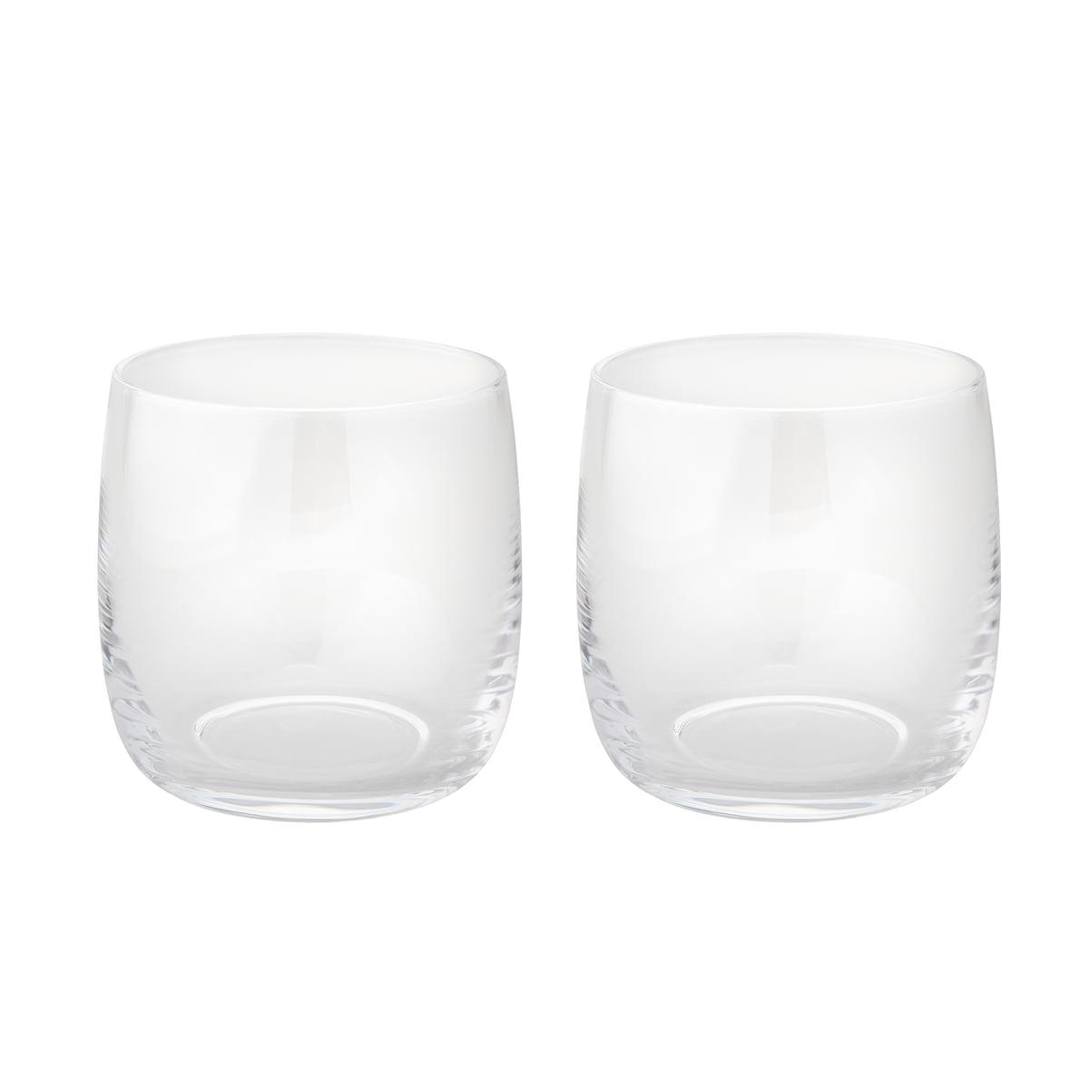 Stelton - Foster Wasserglas 0,2 l, (2er-Set) | Küche und Esszimmer > Besteck und Geschirr > Gläser | Transparent | Glas | Stelton