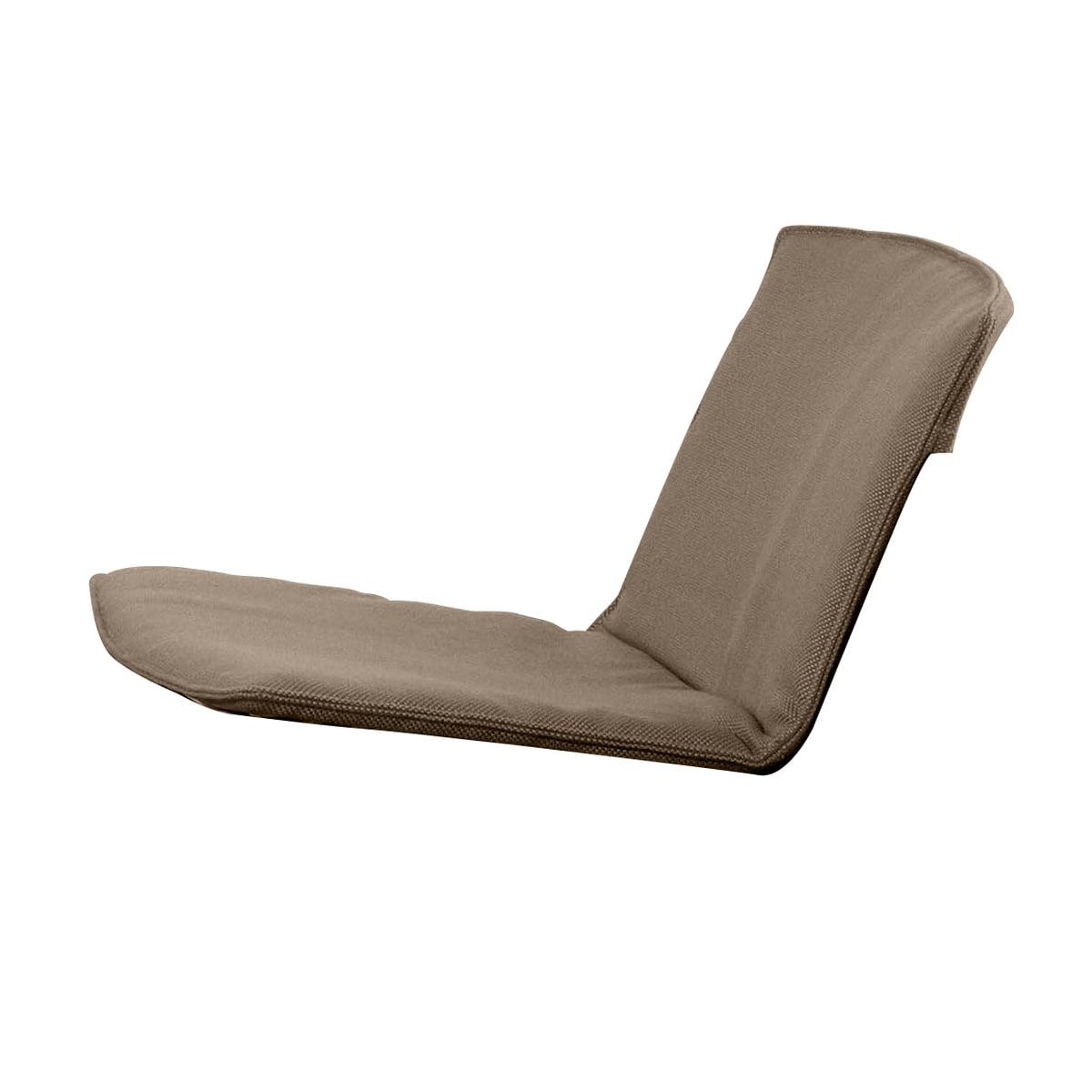 Fast spa Fast - Sitz- und Rückenkissen für Zebra Loungesessel, haselnussbraun | Wohnzimmer > Sessel > Loungesessel | Braun | Fast spa