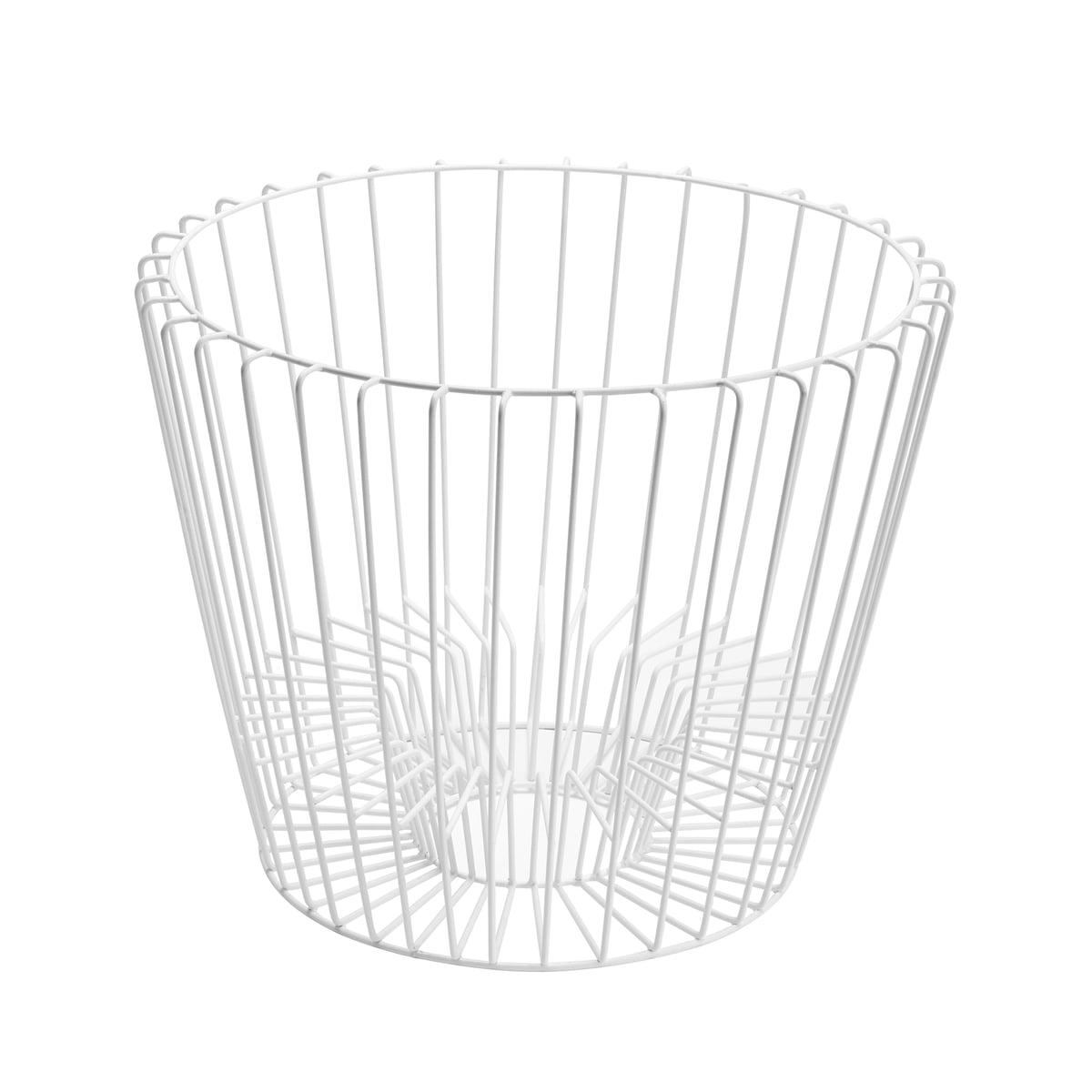 Hartô - Rahmen für Ernest Tisch und Zeitschriftenhalter, weiß (RAL 9016) | Dekoration > Aufbewahrung und Ordnung > Zeitungsständer | Verkehrsweiß (ral 9016) | Hartô