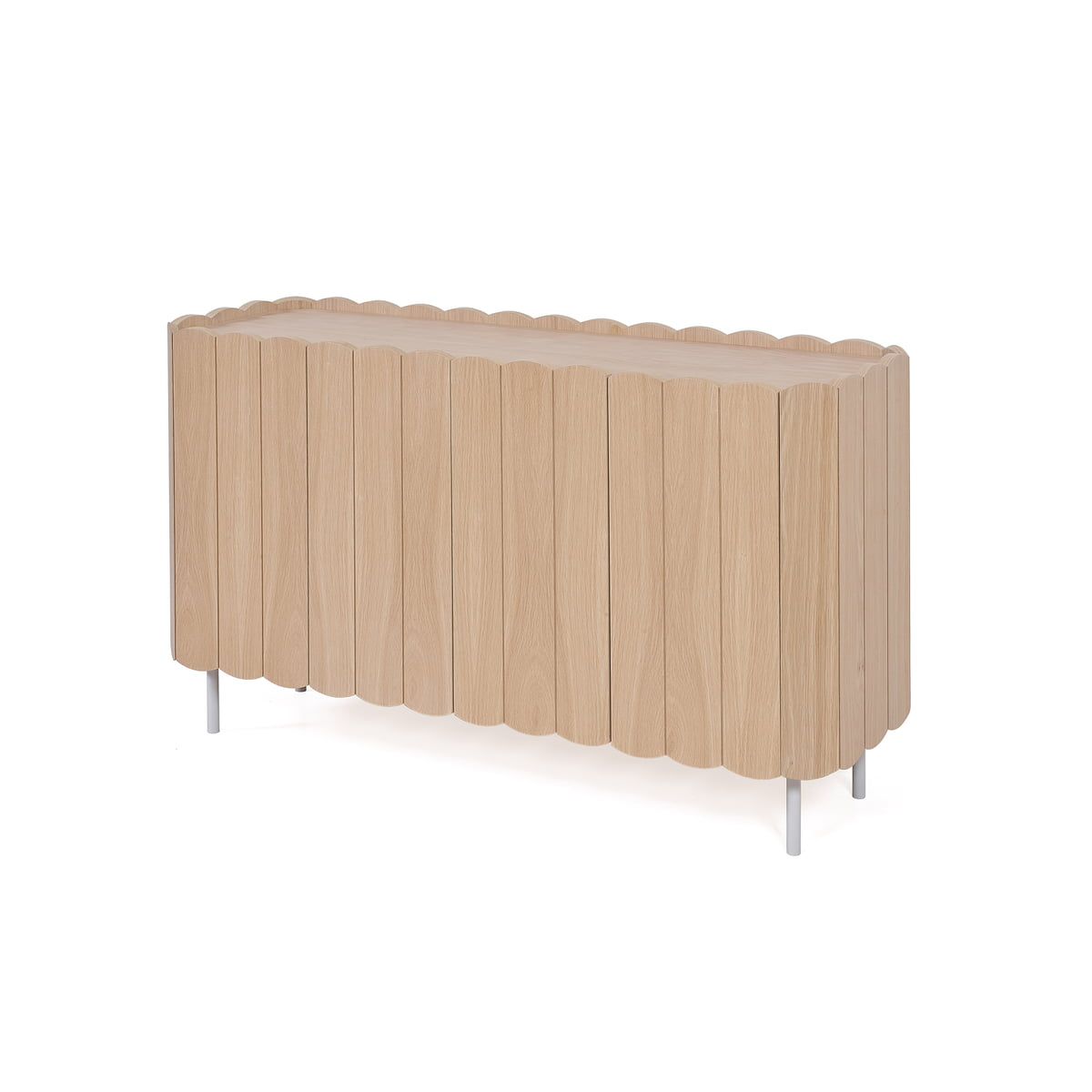 Harto cesar sideboard 124 cm eiche natur