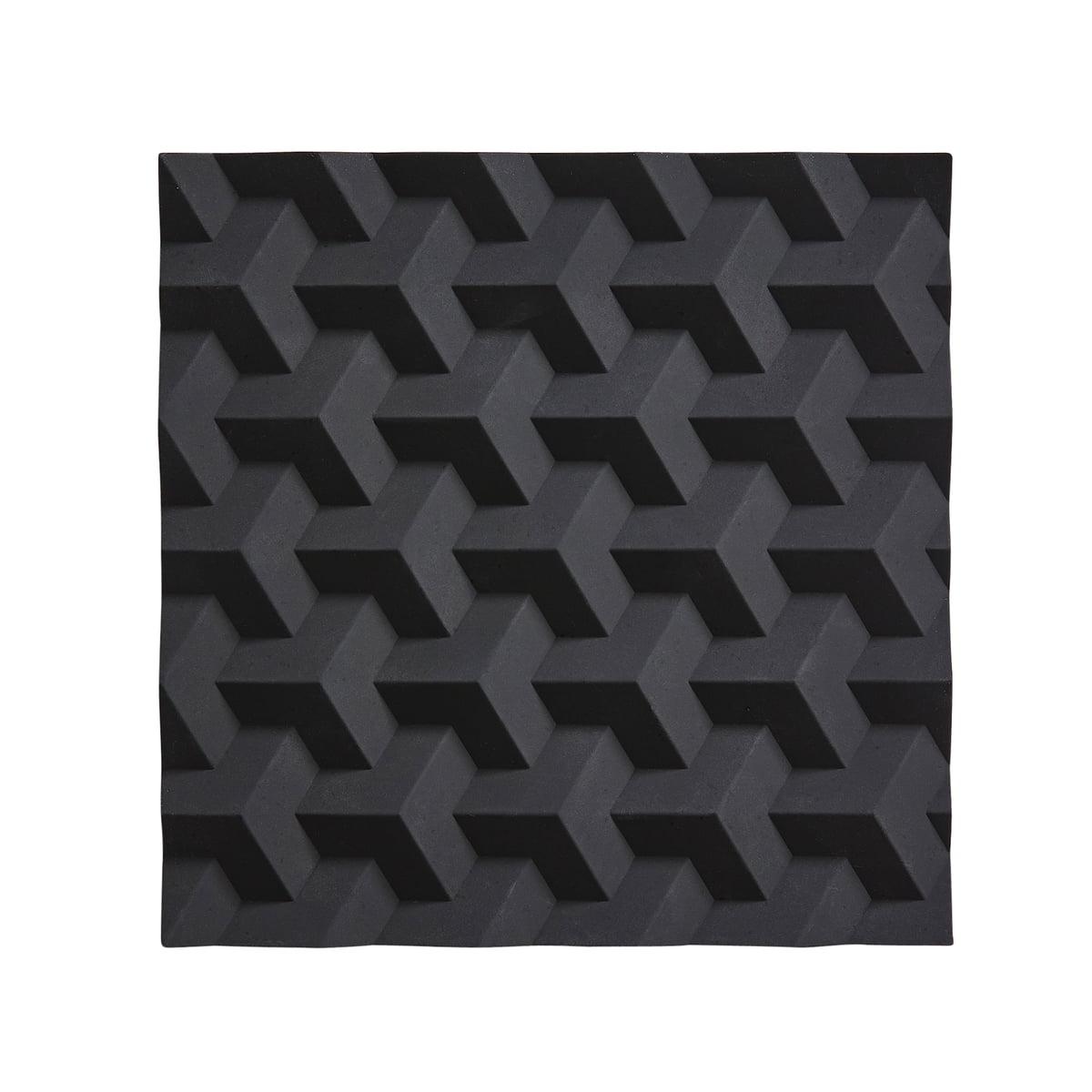 Zone denmark origami untersetzer fold schwarz frei