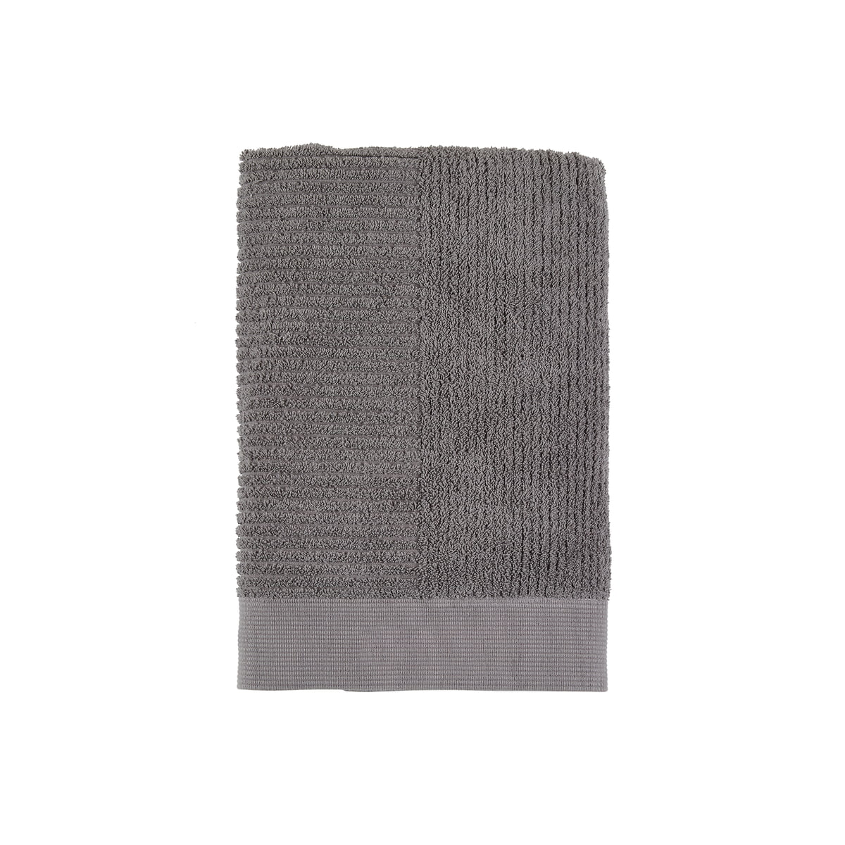 Zone Denmark - Classic Gästehandtuch, 50 x 70 cm, grau | Bad > Handtücher | Dunkelgrau | Zone