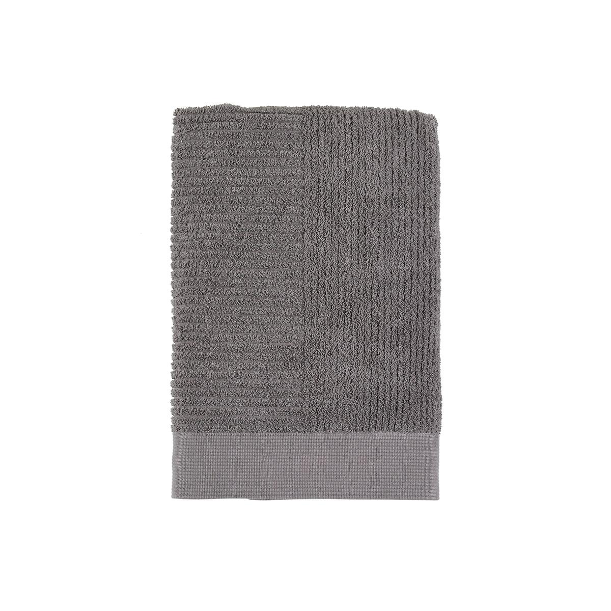 Zone Denmark - Classic Gästehandtuch, 50 x 70 cm, grau | Bad > Handtücher > Gästehandtücher | Dunkelgrau | Baumwolle | Zone Denmark