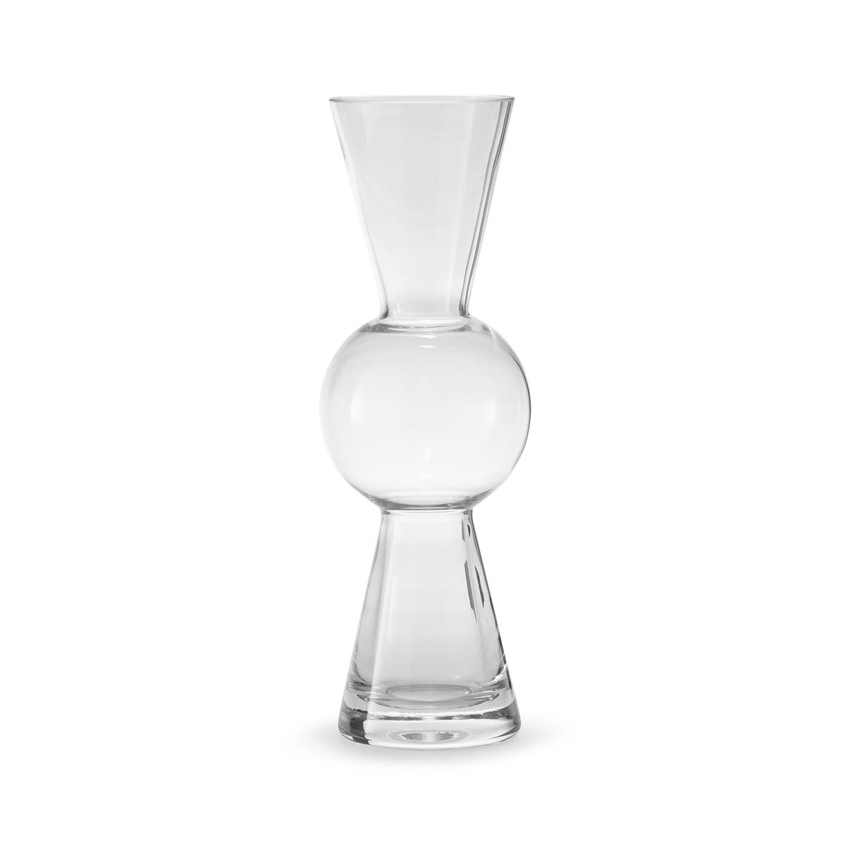 Design house stockholm bon bon vase klar frei