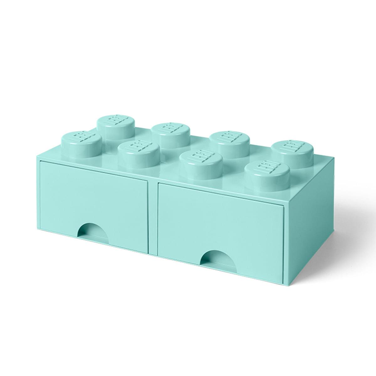 Lego - Brick Drawer 8 Aufbewahrungsbox, aqua   Kinderzimmer > Spielzeuge > Sonstige Spielzeuge   Aquamarin   Lego
