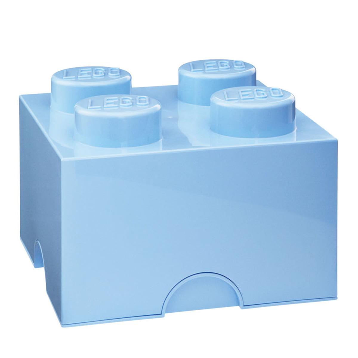 Lego - Storage Brick 4, hellblau | Kinderzimmer > Spielzeuge > Sonstige Spielzeuge | Hellblau | Lego