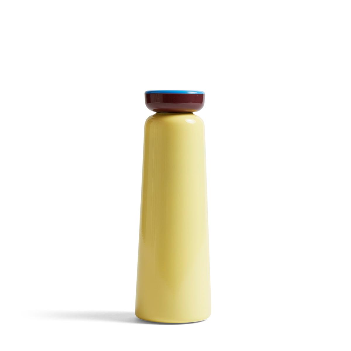 Hay - Sowden Bottle Isolierflasche 0,35 l, hellgelb | Küche und Esszimmer > Besteck und Geschirr > Kannen und Wasserkessel | Hellgelb | Edelstahl -  polypropylen | Hay