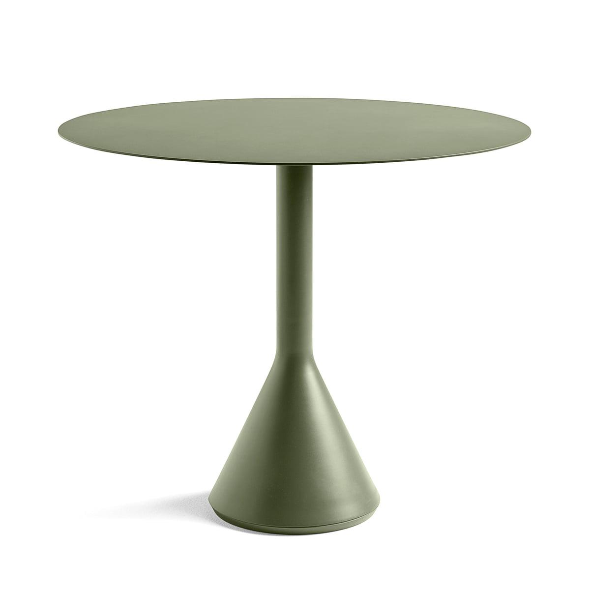 Hay palissade cone tisch 90 x h 74 cm oliv