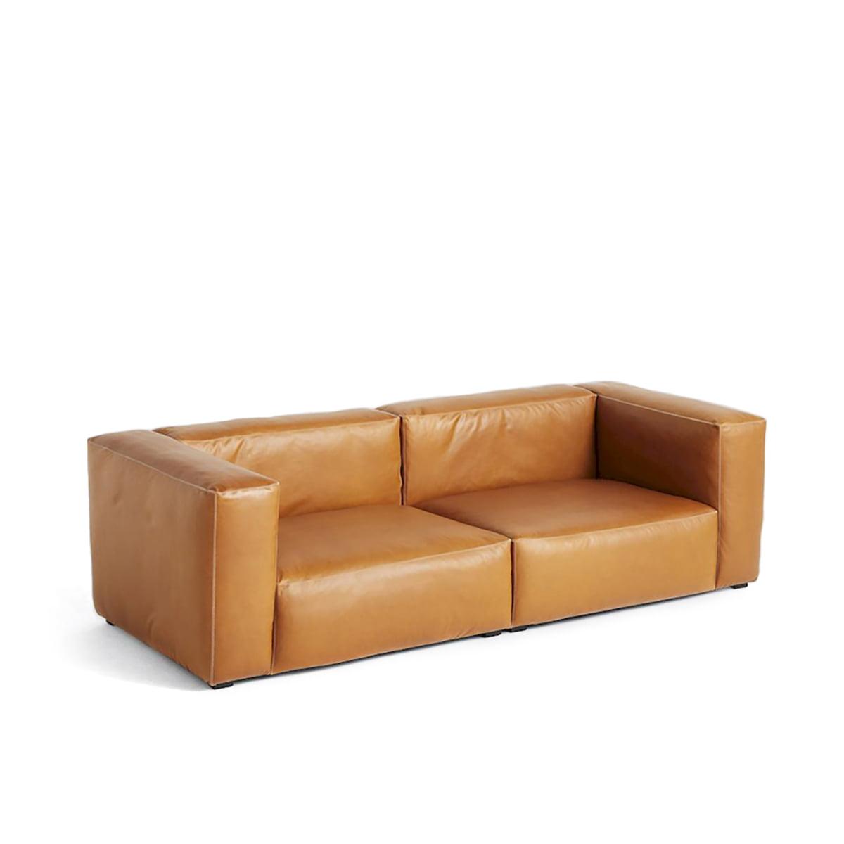 cognac leder 2 3 sitzer sofas online kaufen m bel suchmaschine. Black Bedroom Furniture Sets. Home Design Ideas