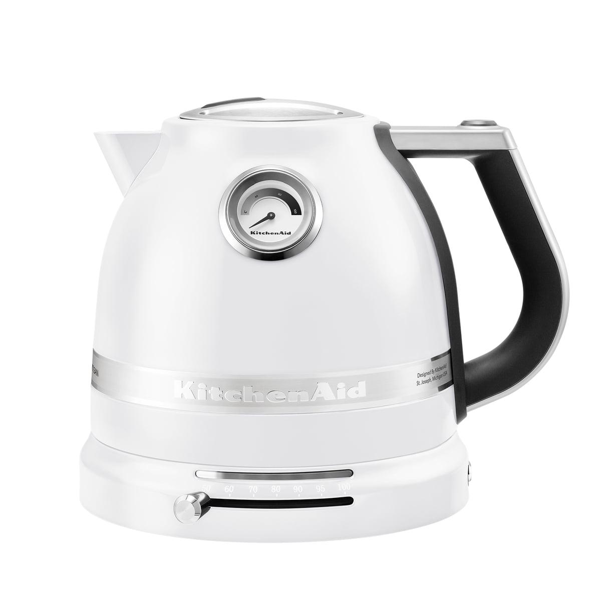 Kitchen Aid KitchenAid - Artisan Wasserkocher 1.5 l, frosted pearl | Küche und Esszimmer > Küchengeräte > Wasserkocher | Perlmutt | Gehäuse: aluminium -  innenwand: kunststoff -  innenboden: edelstahl | Kitchen Aid