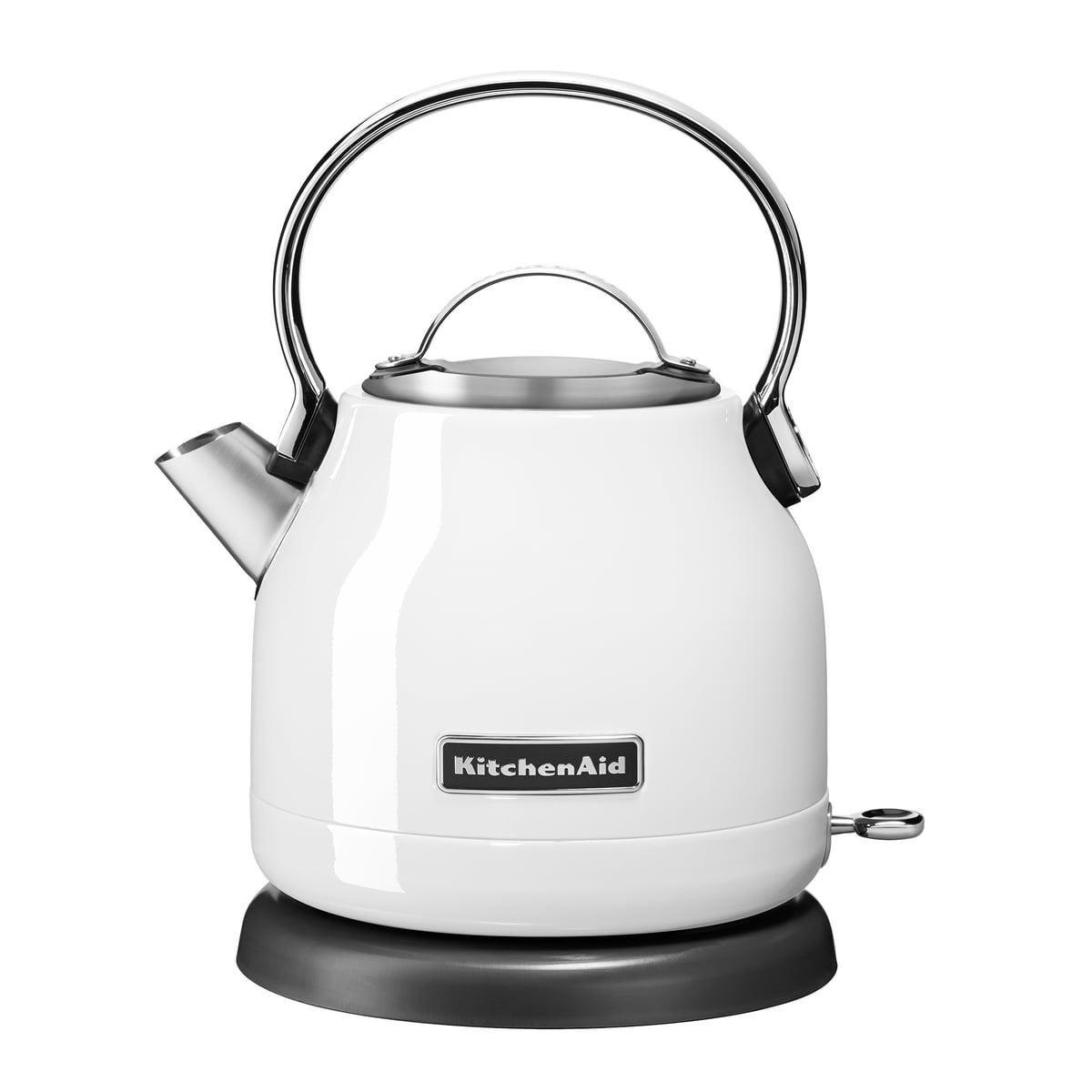 Kitchen Aid KitchenAid - Wasserkocher 1,25 l (5KEK1222), weiß | Küche und Esszimmer > Küchengeräte > Wasserkocher | Weiß | Edelstahl -  aluminium -  kunststoff | Kitchen Aid