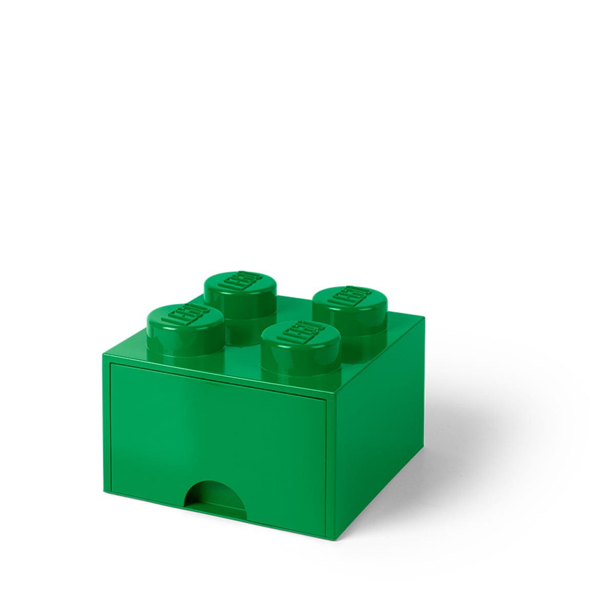 Lego - Brick Drawer 4 Aufbewahrungsbox, grün | Kinderzimmer > Spielzeuge | Grün | Lego