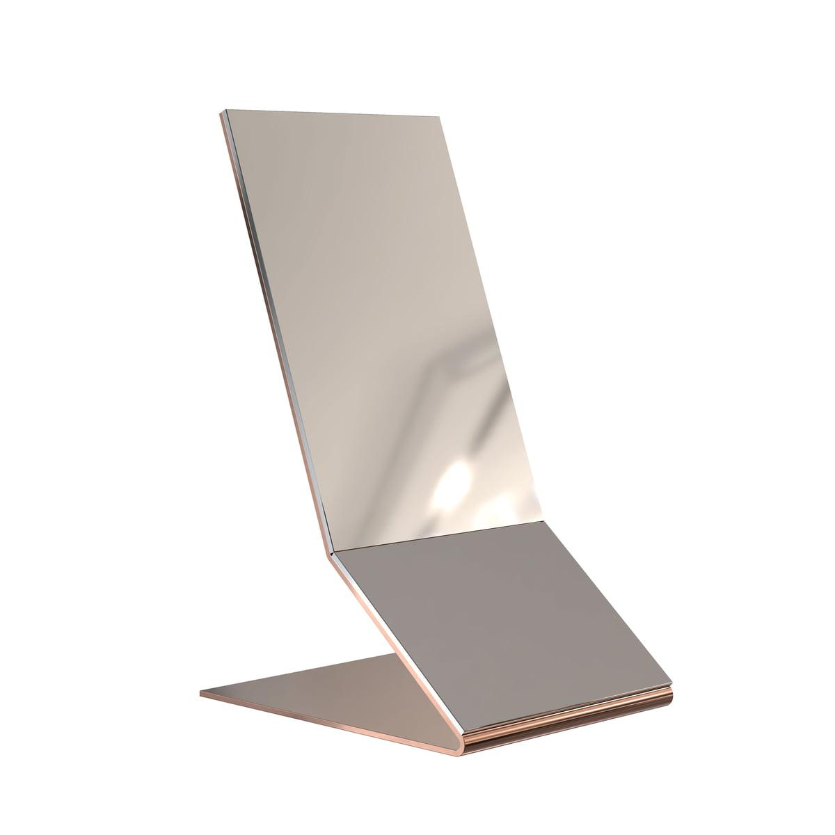 Frost - Unu Tischspiegel, Kupfer | Flur & Diele > Spiegel > Standspiegel | Kupfer | Edelstahl | Frost