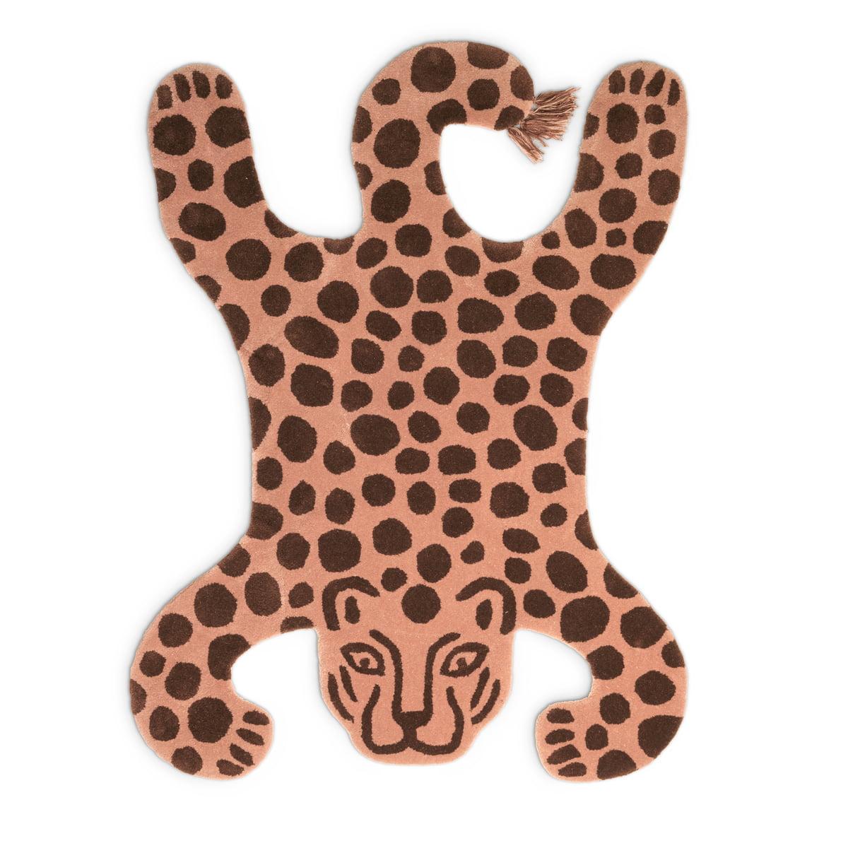 ferm Living - Safari Teppich, Leopard | Heimtextilien > Teppiche > Sonstige-Teppiche | ferm living