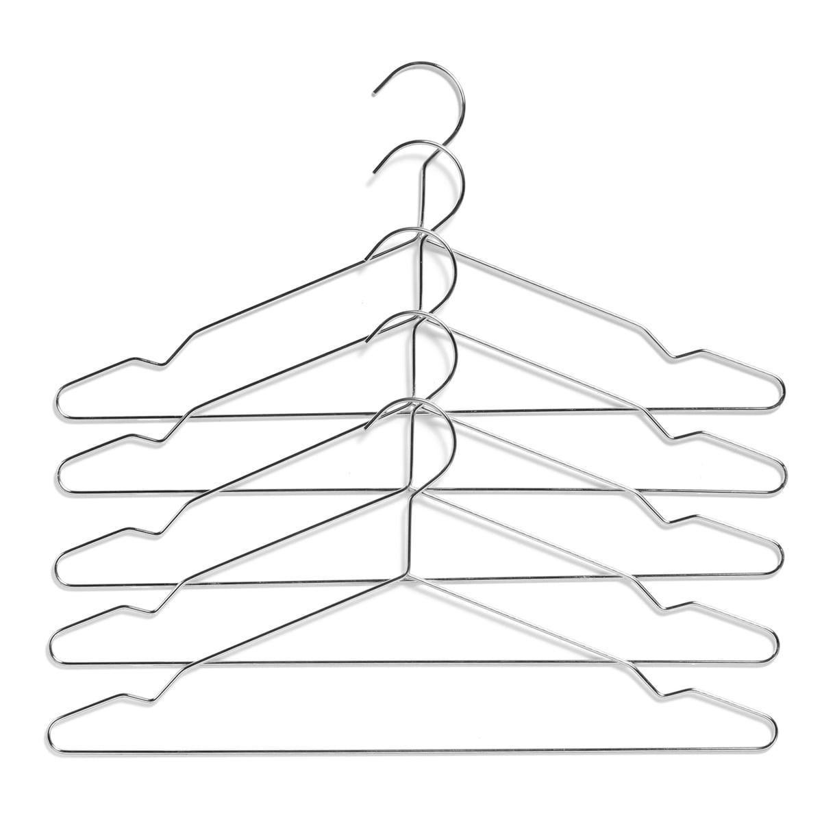 Hay - Hang Kleiderbügel, 5er-Set, silber | Flur & Diele > Garderoben > Kleiderbügel | Silber | Hay