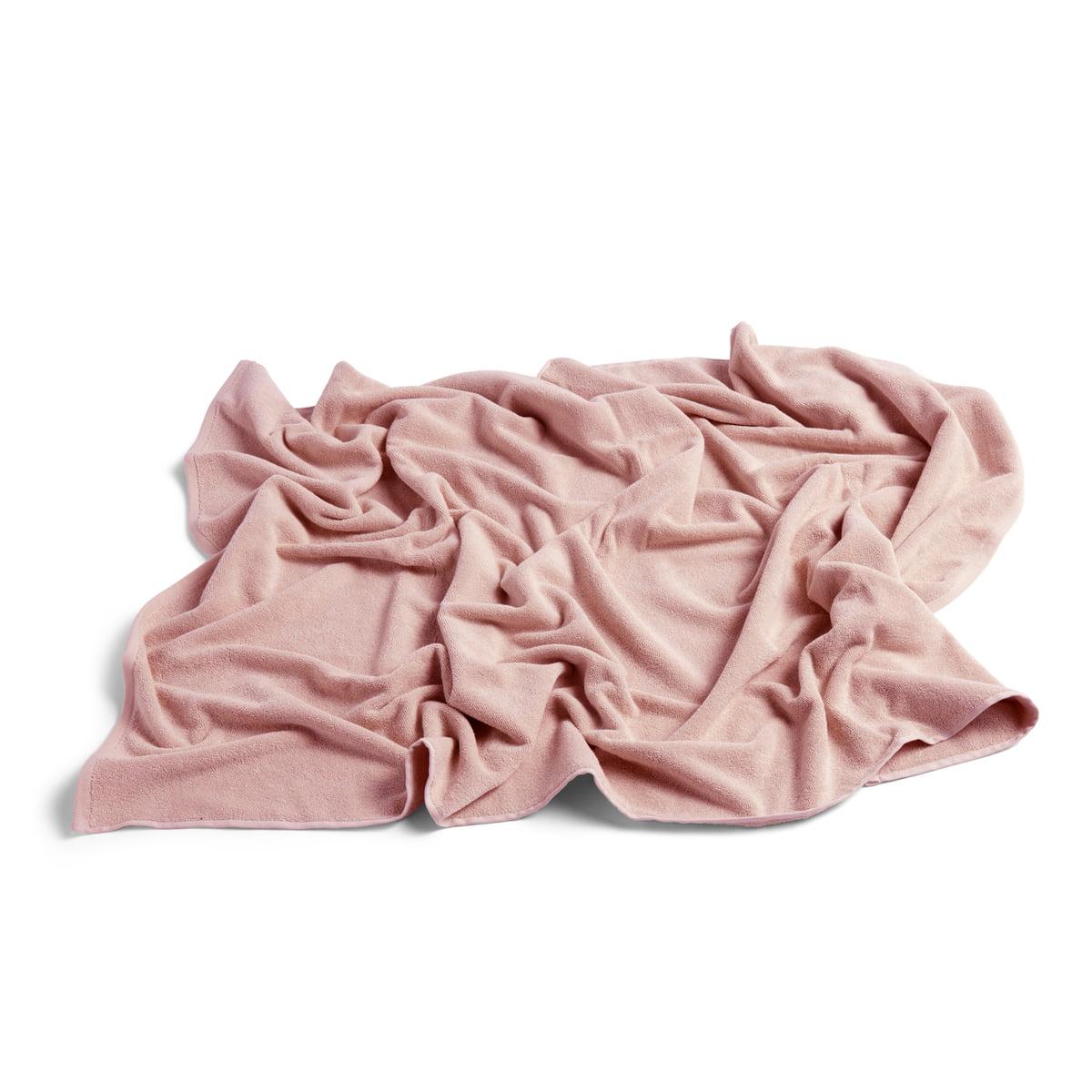 Hay - Frotté Badetuch, 100 x 150 cm, rosa | Bad > Handtücher | Rosa | Hay