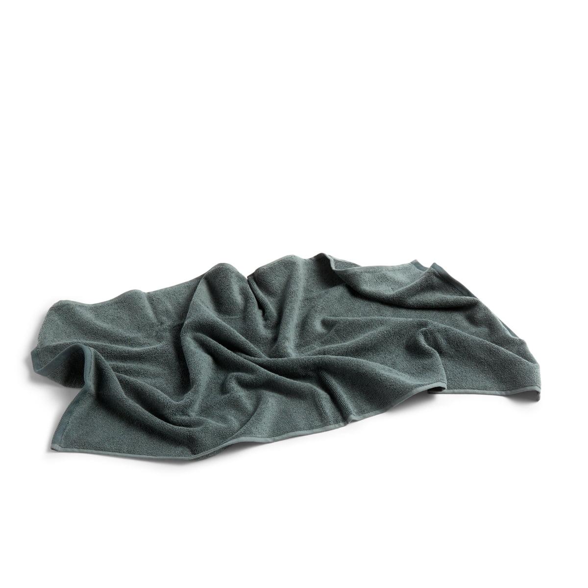 Hay - Frotté Handtuch, 100 x 50 cm, dunkelgrün | Bad > Handtücher | Dunkelgrün | Hay