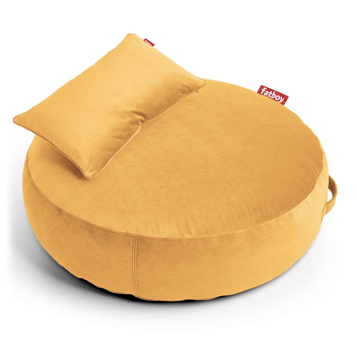 Fatboy - Pupillow Velvet Sitzsack, maisgelb | Wohnzimmer > Sessel > Sitzsaecke | Gelb | Fatboy