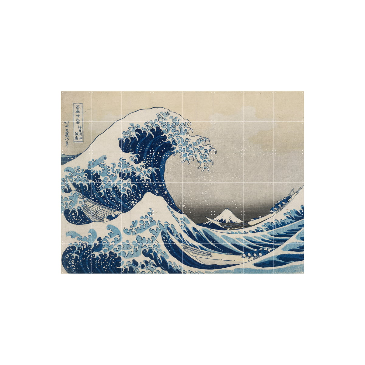 Ixxi the great wave 160 x 120 cm freisteller