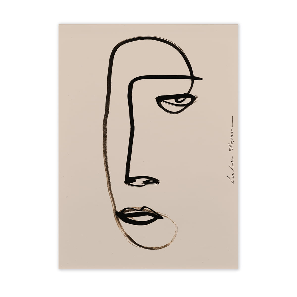 Paper collective serious dreamer 50 x 70 cm frei
