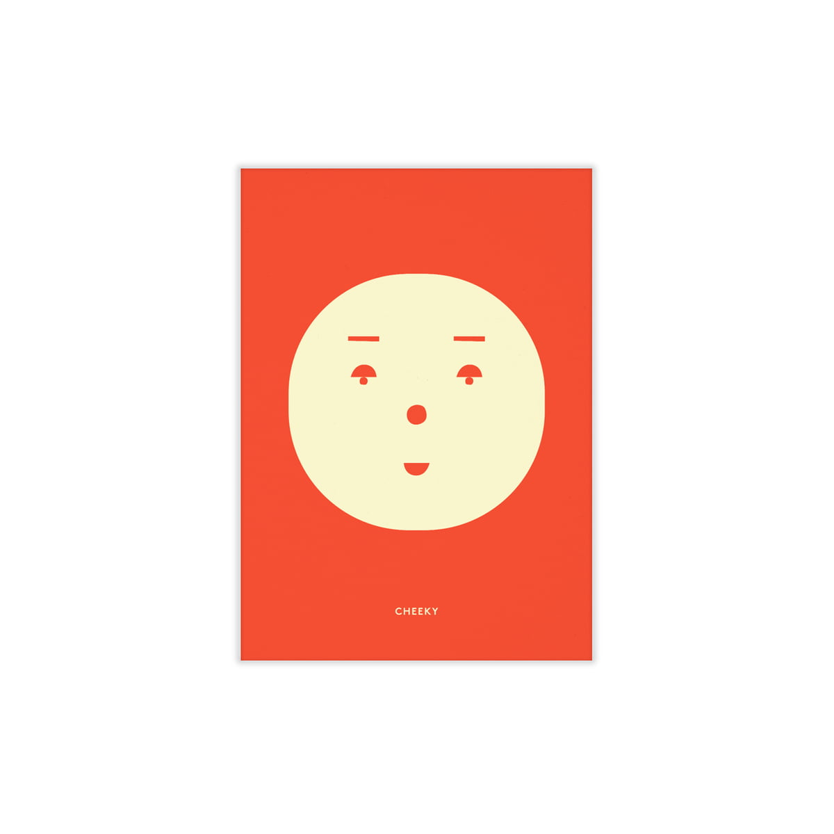 Paper Collective - Cheeky Feeling, 30 x 40 cm | Dekoration > Bilder und Rahmen > Poster | Mehrfarbig | 200g munken lynx naturpapier | Paper Collective