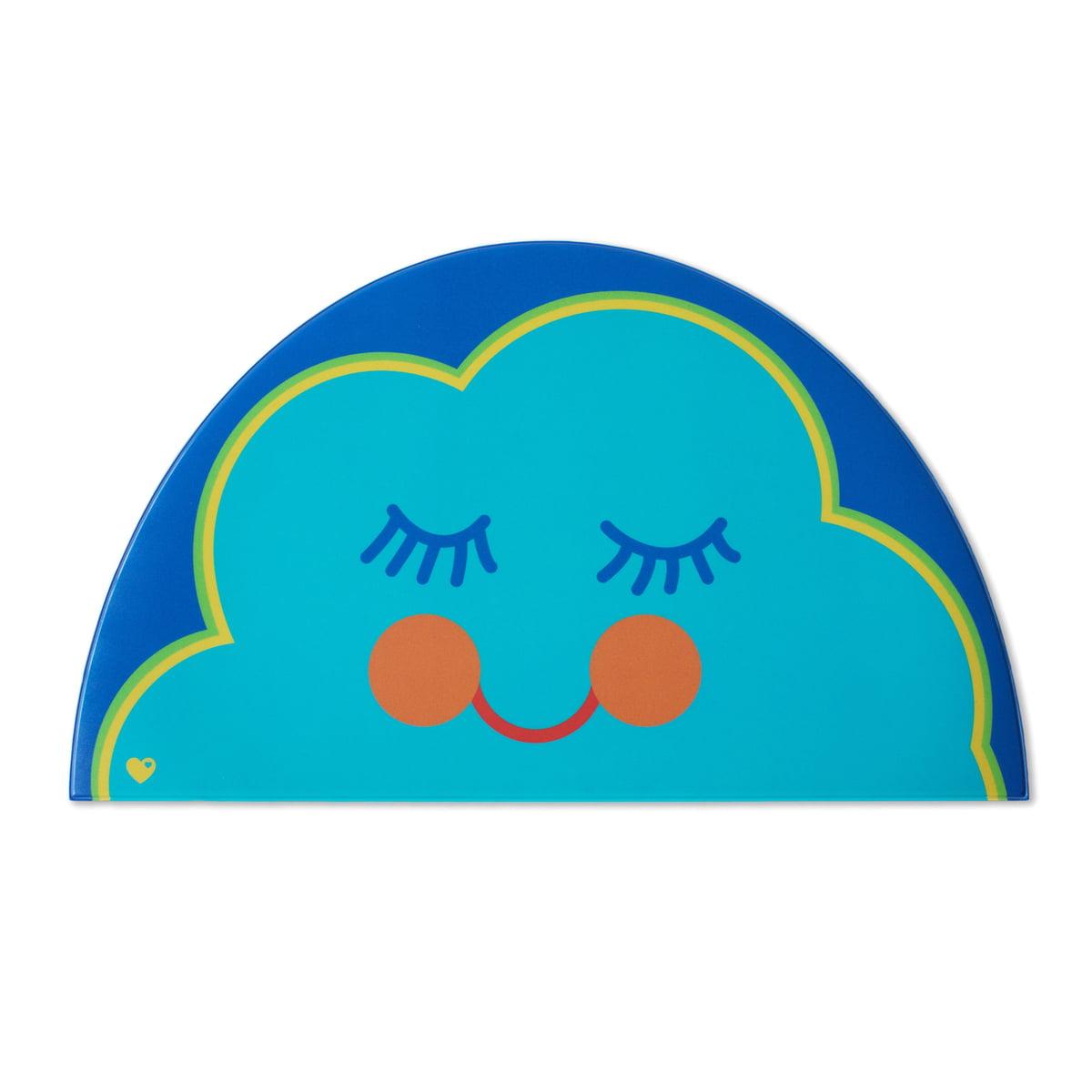 byGraziela - Kinder Tischset, Wolke   Kinderzimmer > Kindertische   Blau   byGraziela
