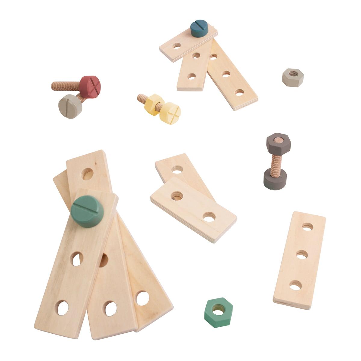 Sebra - Bau-Spielset, grau | Kinderzimmer > Spielzeuge > Sonstige Spielzeuge | Sebra