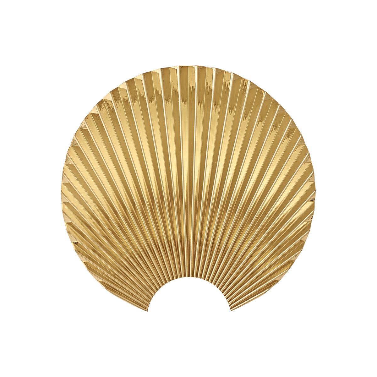 Aytm concha wandhaken medium gold