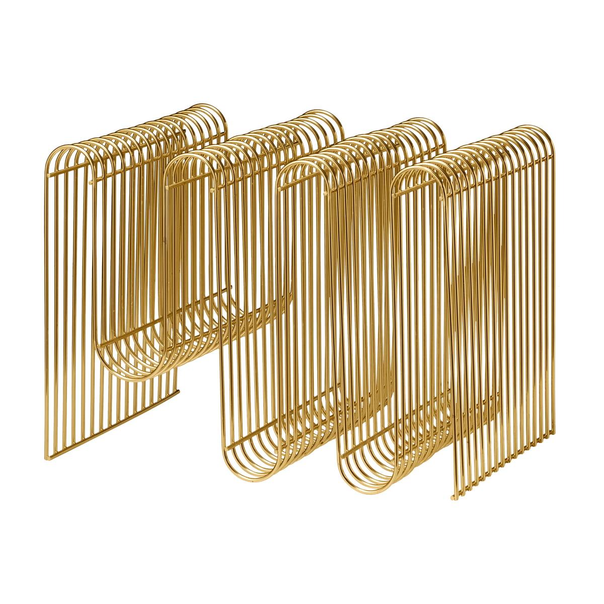 Aytm curva magazinhalter gold