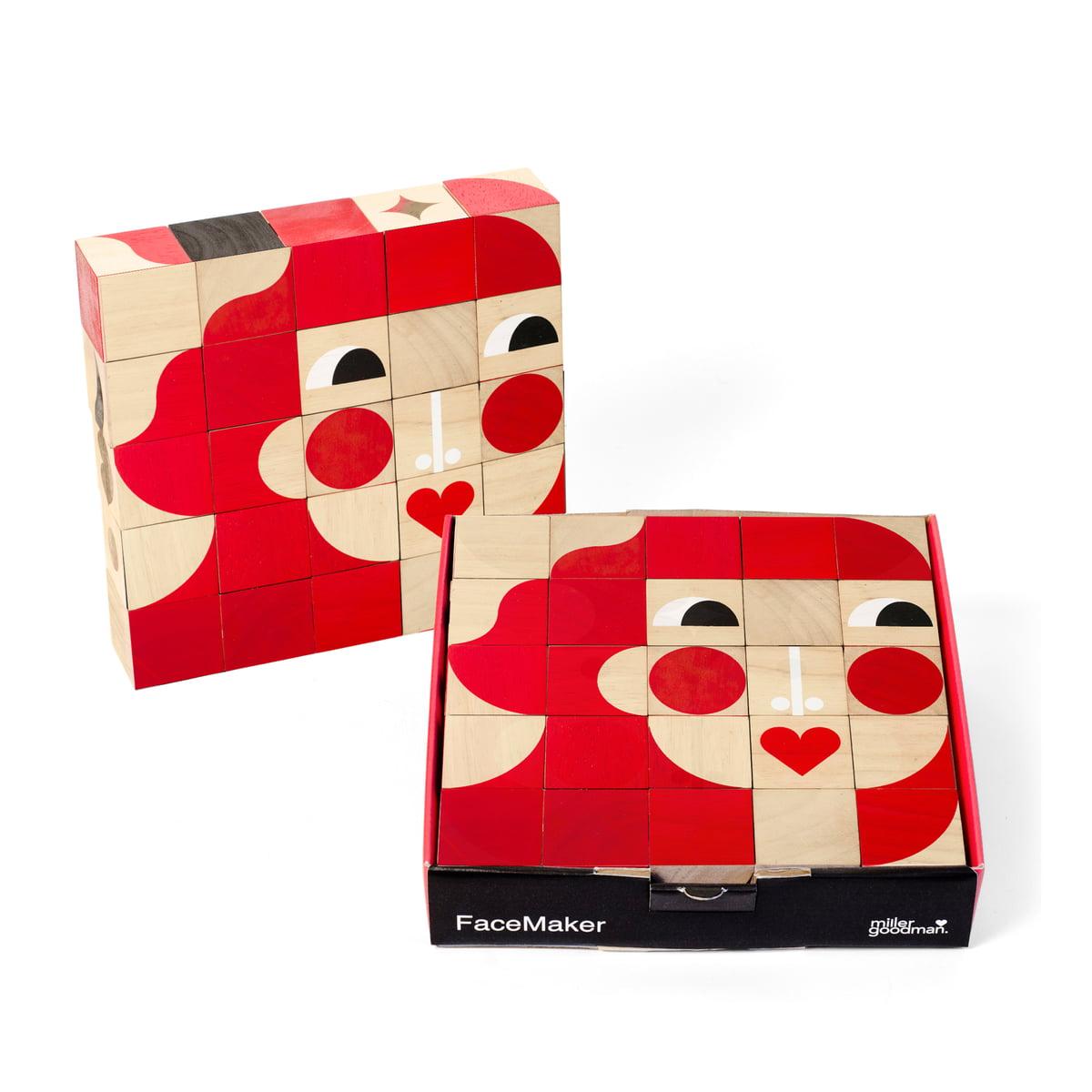 Miller Goodman - Mini FaceMaker Holzspielzeug | Kinderzimmer > Spielzeuge > Holzspielzeuge | Miller Goodman