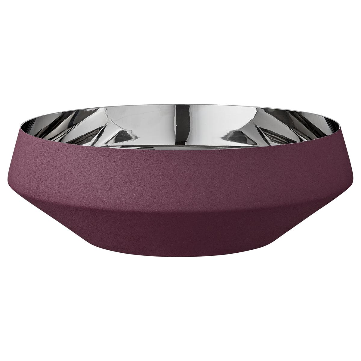 AYTM - Lucea Schale extra large, Ø 34,5 x H 9,6 cm, bordeaux   Dekoration > Aufbewahrung und Ordnung   Bordeauxrot   AYTM