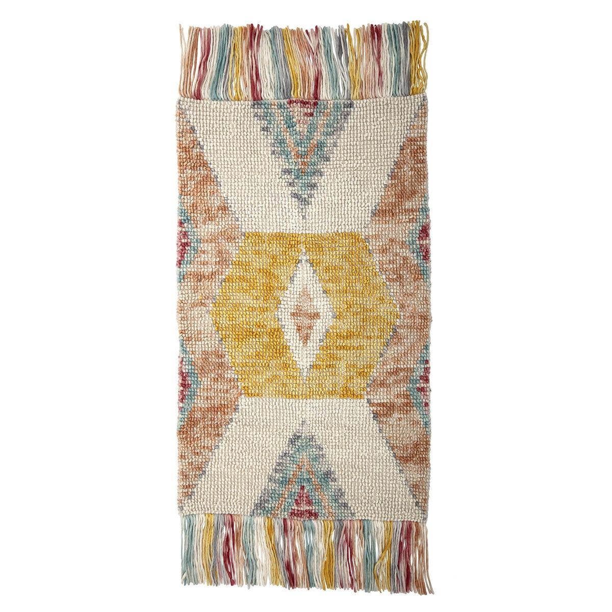 Bloomingville teppich l 150 x w 90 cm multi color einzel