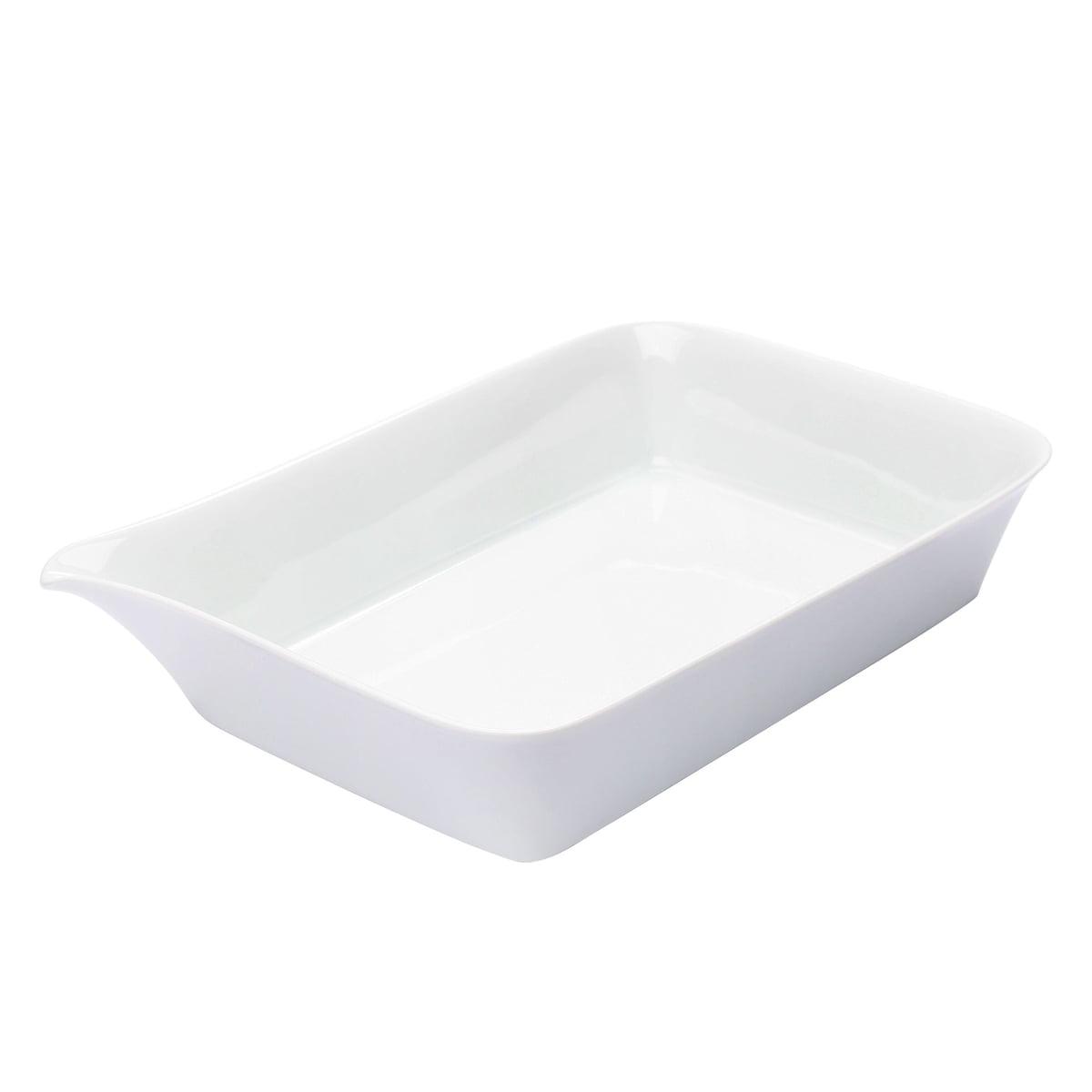 Kahla - Five Senses Midi-Backform, 28 x 19 cm, weiß   Küche und Esszimmer > Kochen und Backen   Kahla