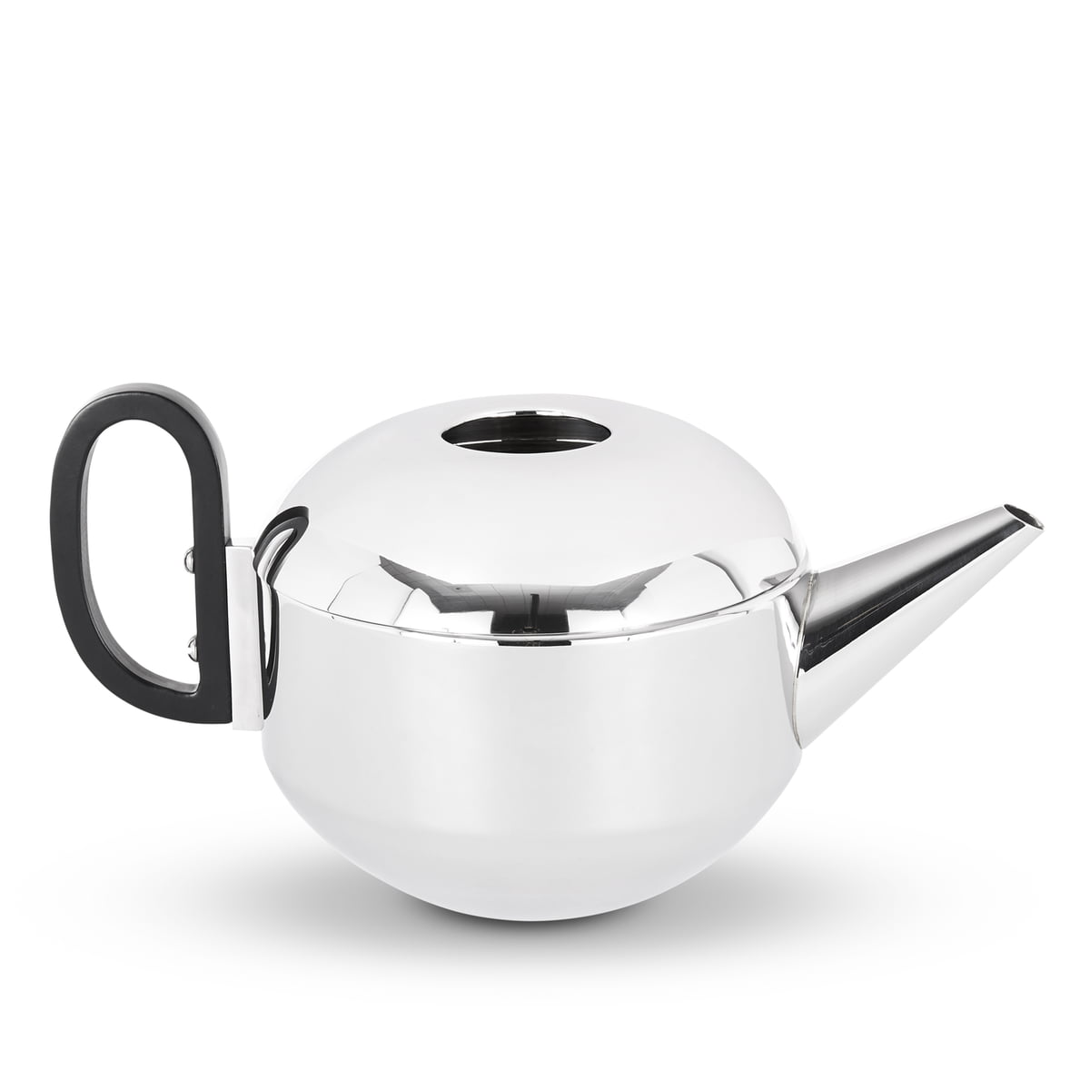 Tom Dixon - Form Teekanne, Edelstahl | Küche und Esszimmer > Kaffee und Tee > Teekocher | Edelstahl | Griff: bakelit | Tom Dixon