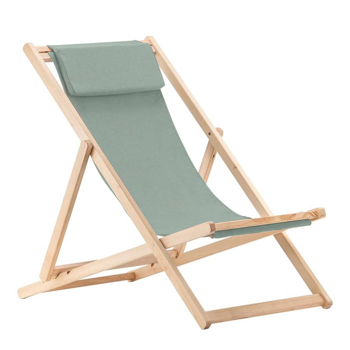 Fiam - Relax Liegestuhl, Robinie / salbei | Wohnzimmer > Sessel > Relaxliegen | Fiam
