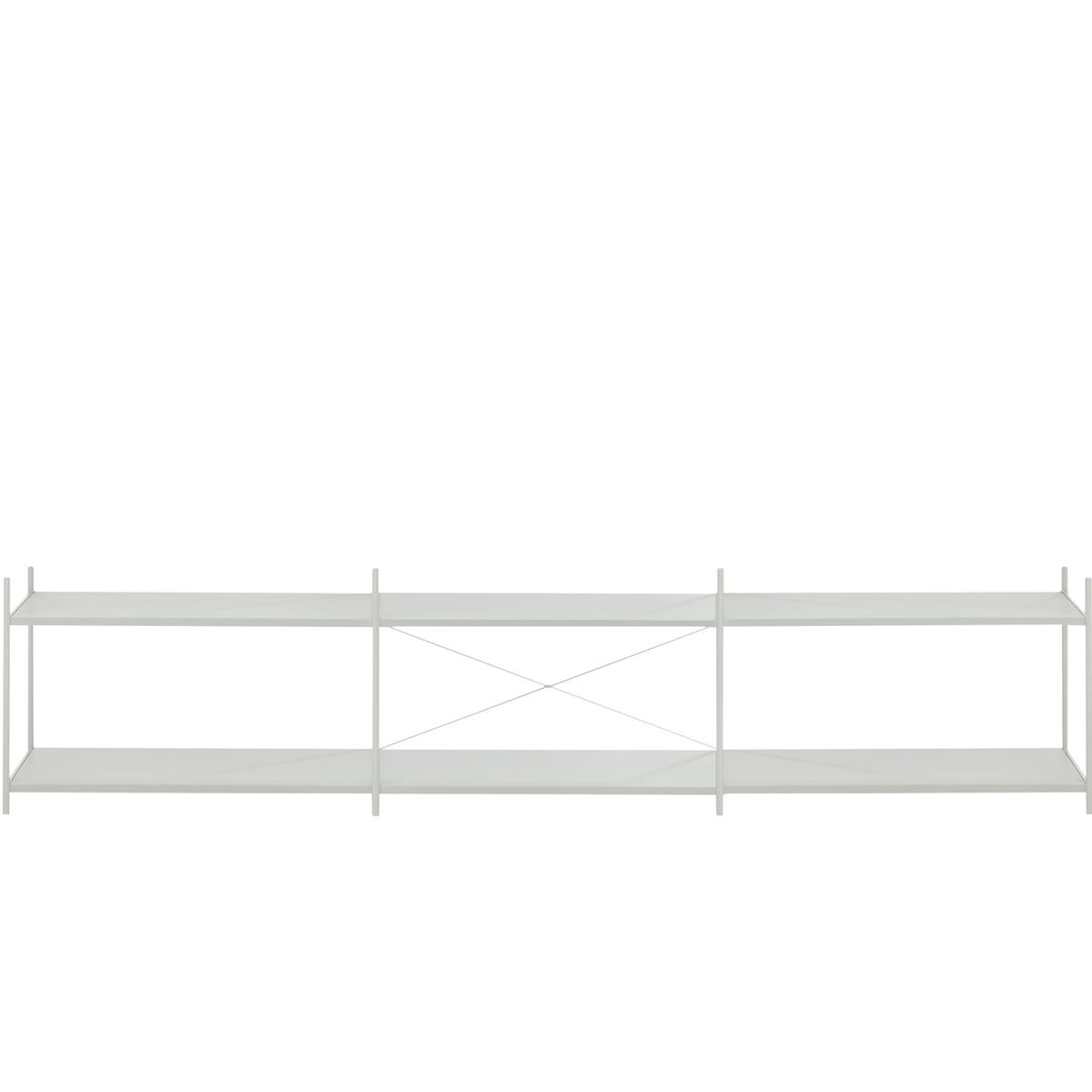 ferm Living - Punctual Regalsystem 3x2, grau | Wohnzimmer > Regale > Regalsysteme | Grau | ferm living