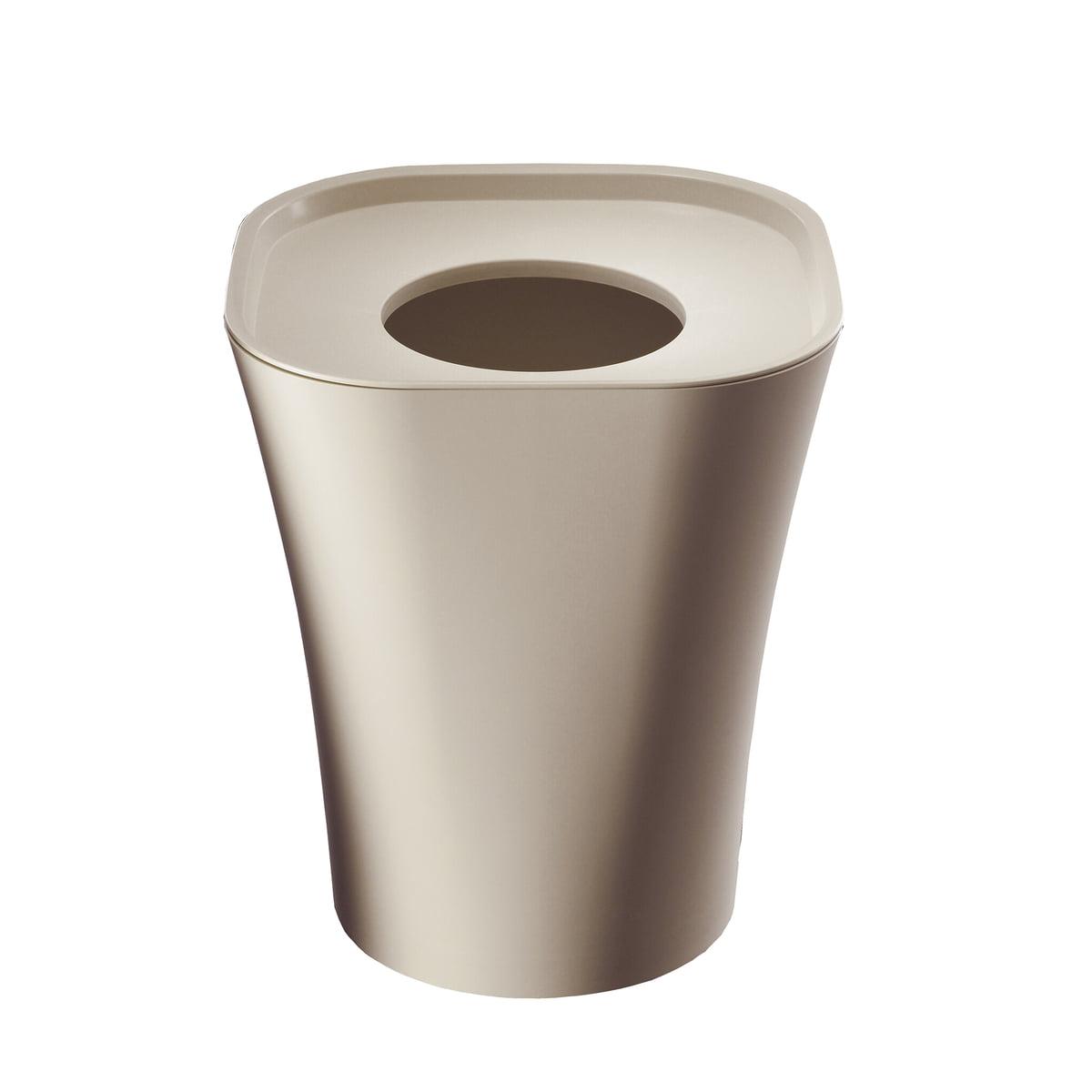Magis - Trash Papierkorb groß, beige | Büro > Papierkörbe | Beige | Polypropylen | Magis