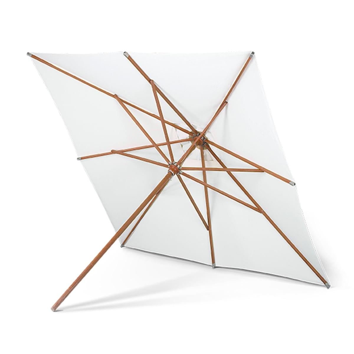 Skagerak - Messina Sonnenschirm, 300 x 300 cm | Garten > Sonnenschirme und Markisen > Sonnenschirme | Weiß | Merantiholz -  strapazierfähiges schirmtuch | Skagerak