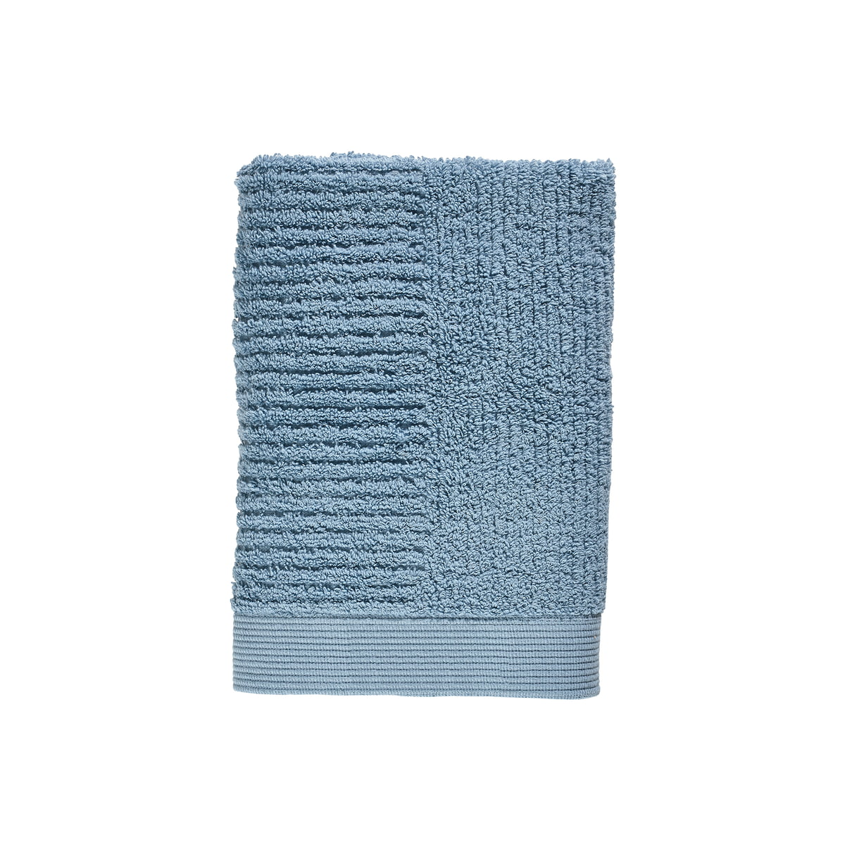 Zone Denmark - Classic Gästehandtuch, 50 x 70 cm, blue fog   Bad > Handtücher > Gästehandtücher   Zone Denmark