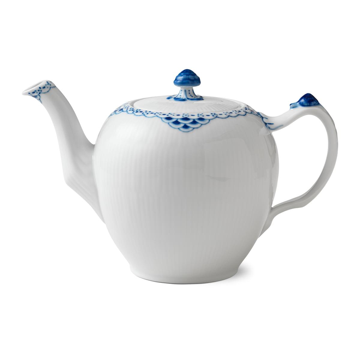 Royal Copenhagen - Prinzess Teekanne 1 l   Küche und Esszimmer > Kaffee und Tee   Blau/weiß   Royal Copenhagen
