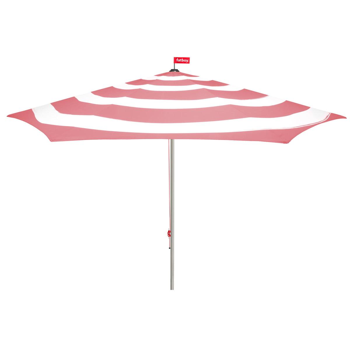 Fatboy - Stripesol Sonnenschirm, deep blush   Garten > Sonnenschirme und Markisen   Altrosa   Fatboy