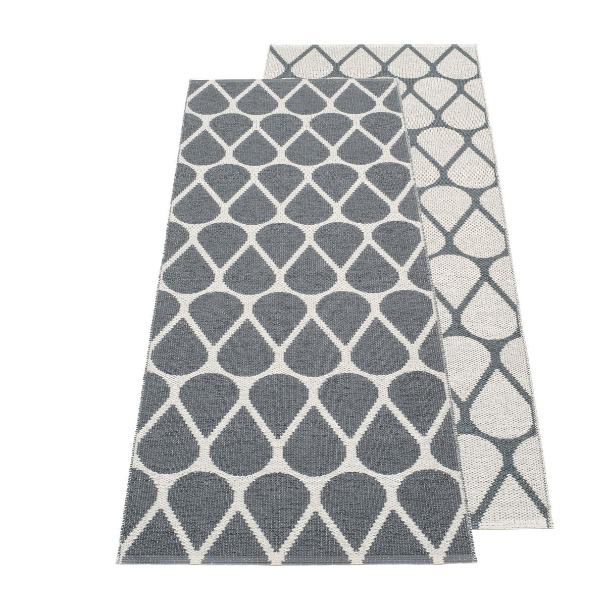 Pappelina - Otis Wendeteppich, 70 x 140 cm, granit / fossil grey   Heimtextilien > Teppiche > Sonstige-Teppiche   Pappelina