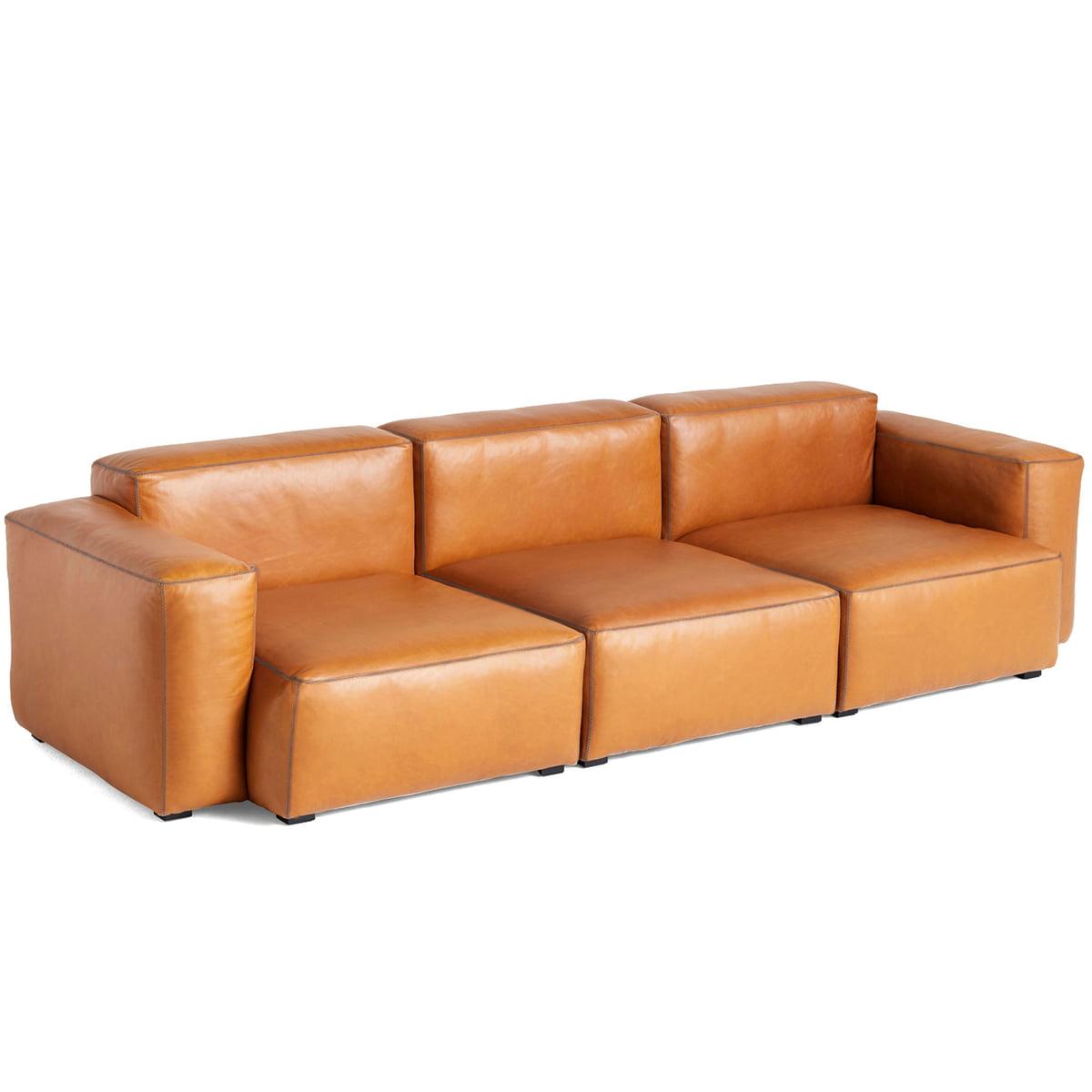 cognac leder 2 3 sitzer sofas online kaufen m bel. Black Bedroom Furniture Sets. Home Design Ideas
