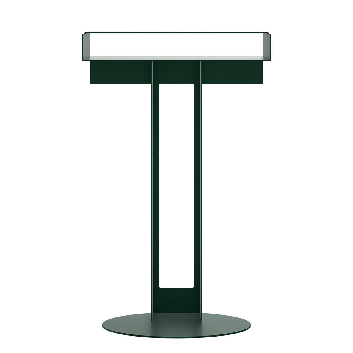 New Tendency - Meta Beistelltisch, dunkelgrün | Wohnzimmer > Tische > Beistelltische | Dunkelgrün | New Tendency