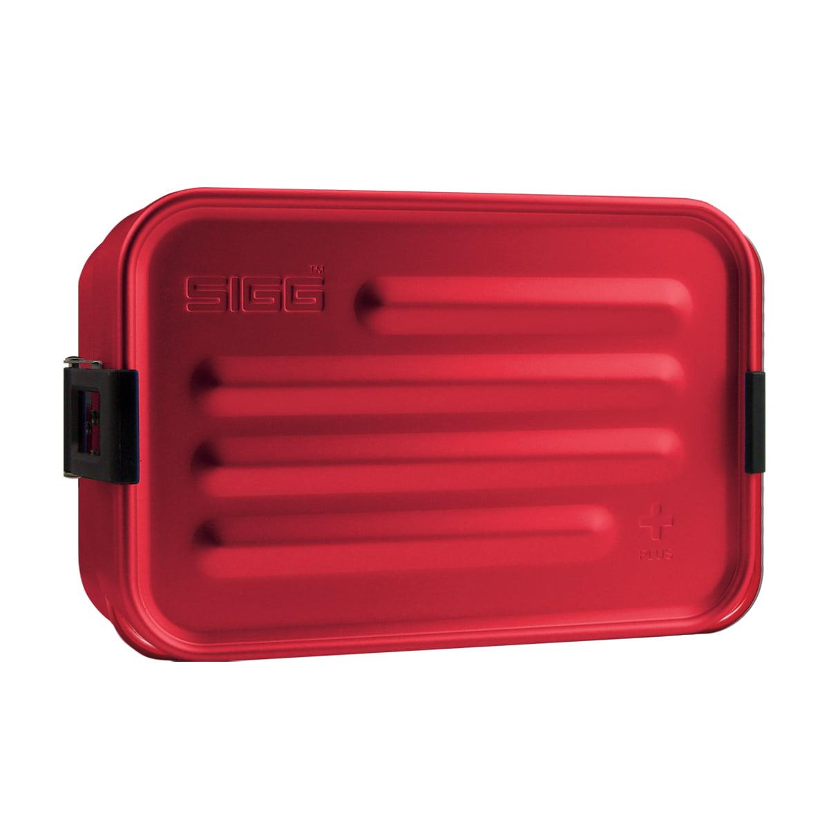 Sigg - Aluminium Box Brotdose Plus S, rot   Küche und Esszimmer > Aufbewahrung > Brotkasten   Rot   Sigg