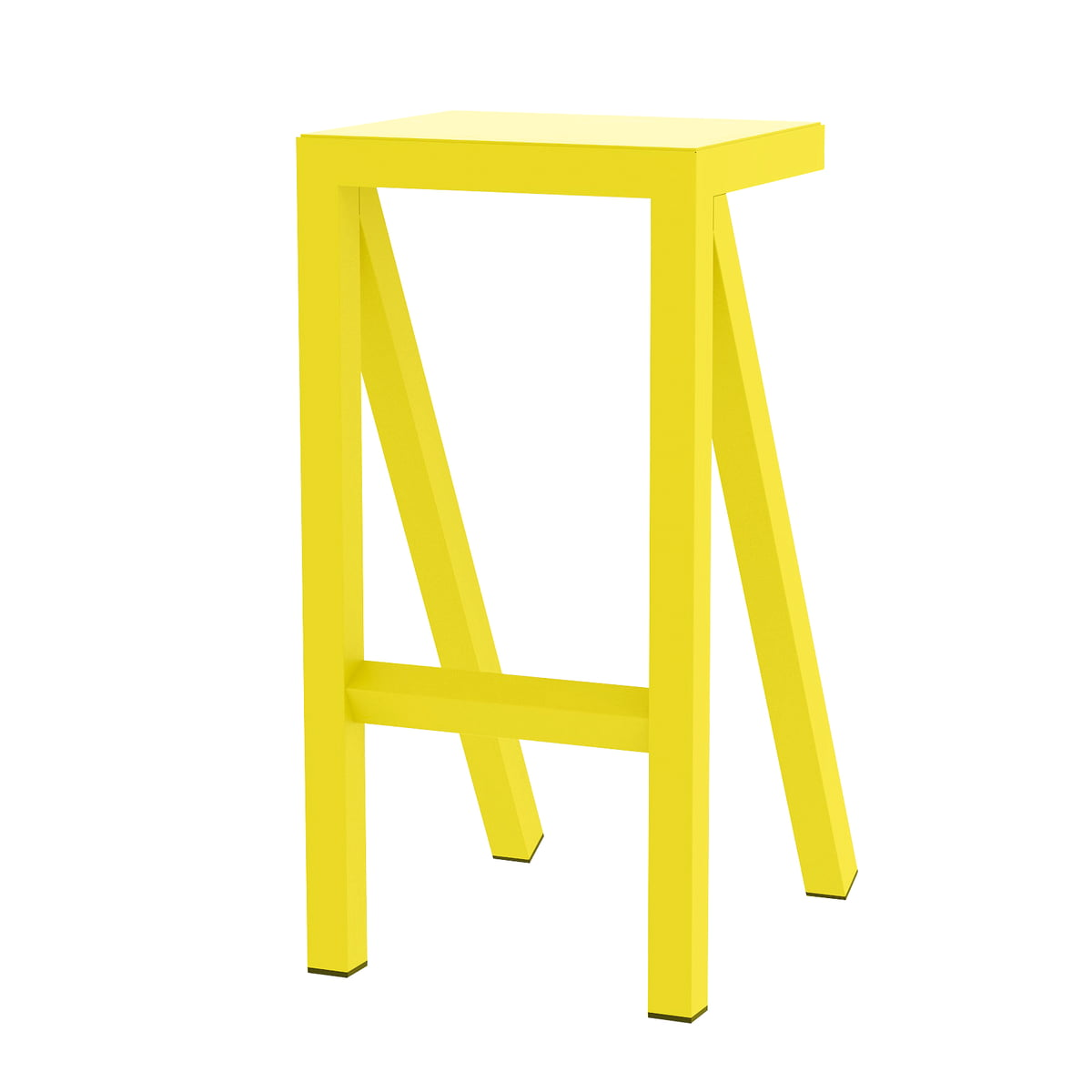 Magis - Bureaurama Küchen-Hocker H 62 cm, gelb | Küche und Esszimmer > Stühle und Hocker > Küchenhocker | Magis