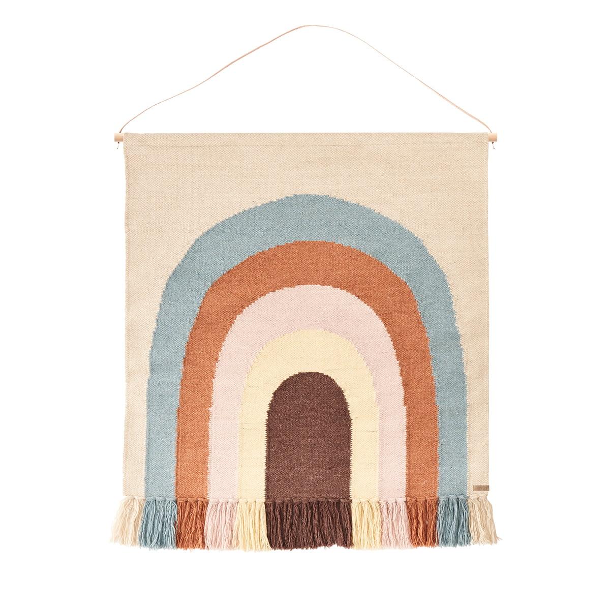OYOY - Wandteppich Follow the Rainbow | Heimtextilien > Teppiche > Wandteppich | Mehrfarbig | OYOY