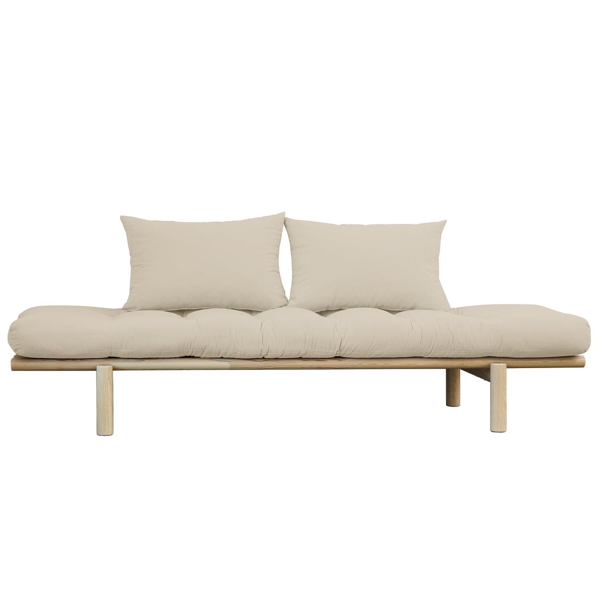 Karup Design - Pace Daybed, Natur / beige (747) | Schlafzimmer > Schlafsofas > Schlafsofas & Polsterliegen | Beige | Karup Design