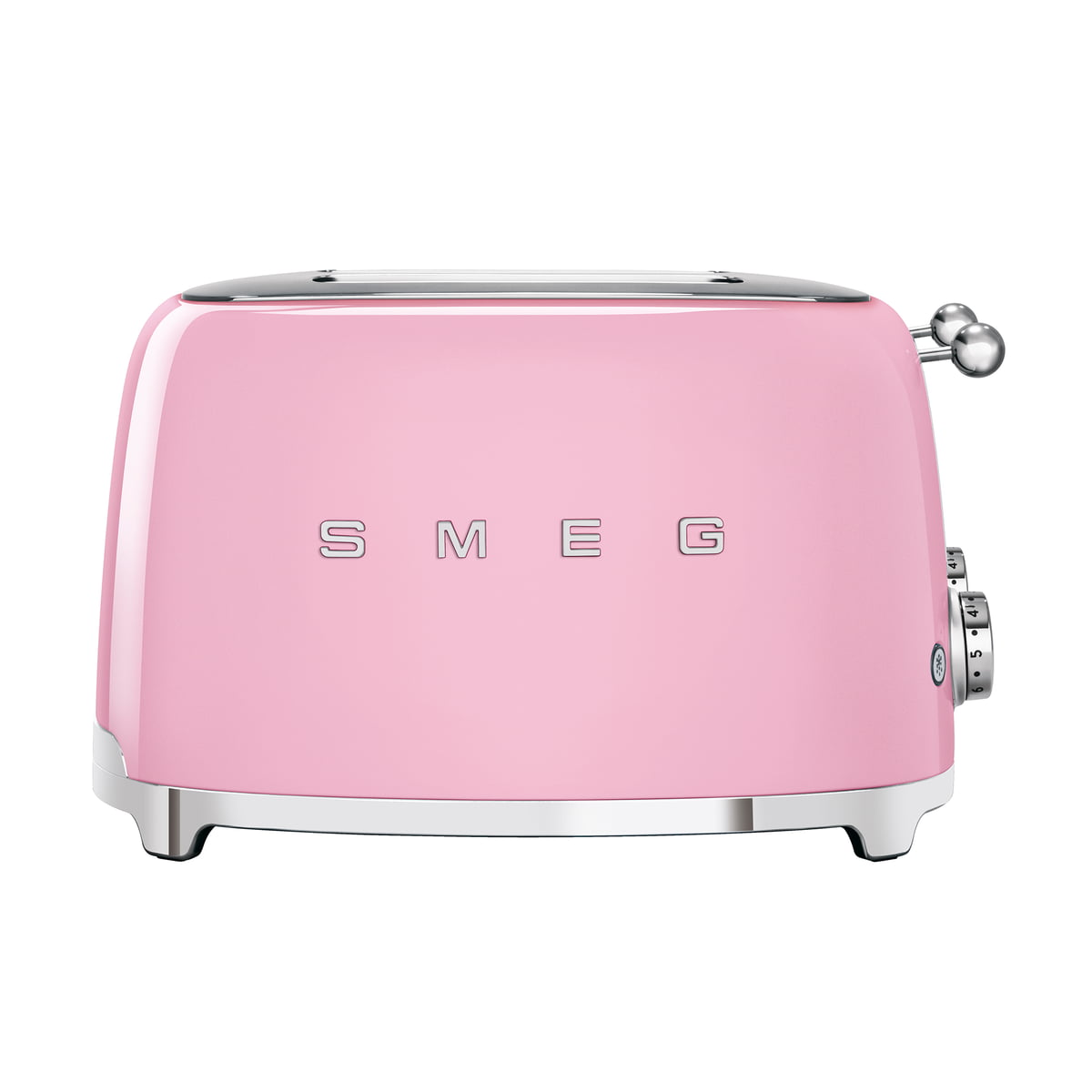 Smeg - 4-Scheiben Toaster TSF03, cadillac pink | Küche und Esszimmer > Küchengeräte > Toaster | Pink | Smeg