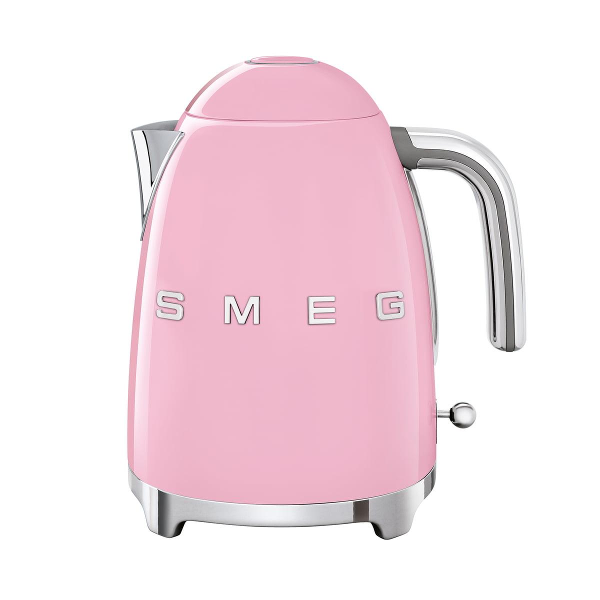 Smeg - Wasserkocher 1,7 l (KLF03), cadillac pink | Küche und Esszimmer > Küchengeräte > Wasserkocher | Pink | Edelstahl -  lackiert | Smeg